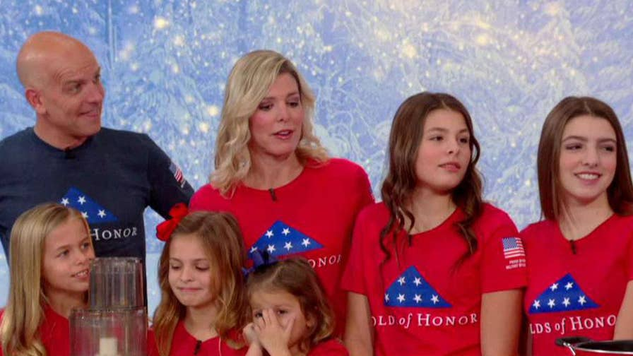 Folds of Honor CEO and founder Major Dan Rooney, his wife and five daughters share their family recipe.