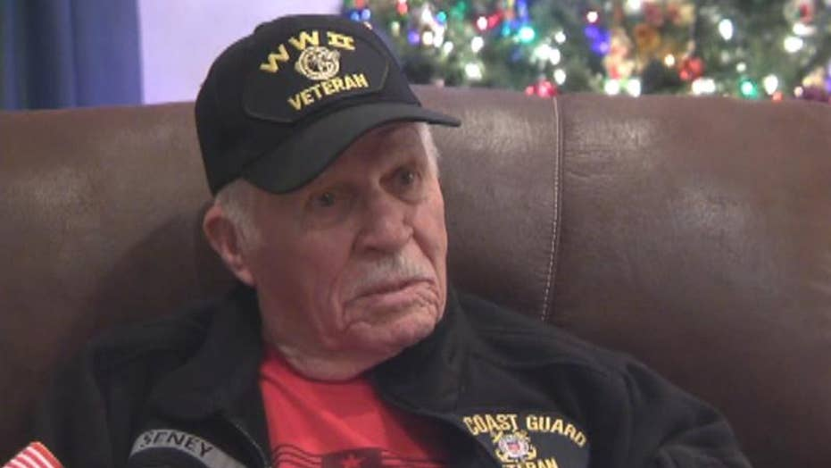 WWII vet searching for woman who gave him $50 for Christmas