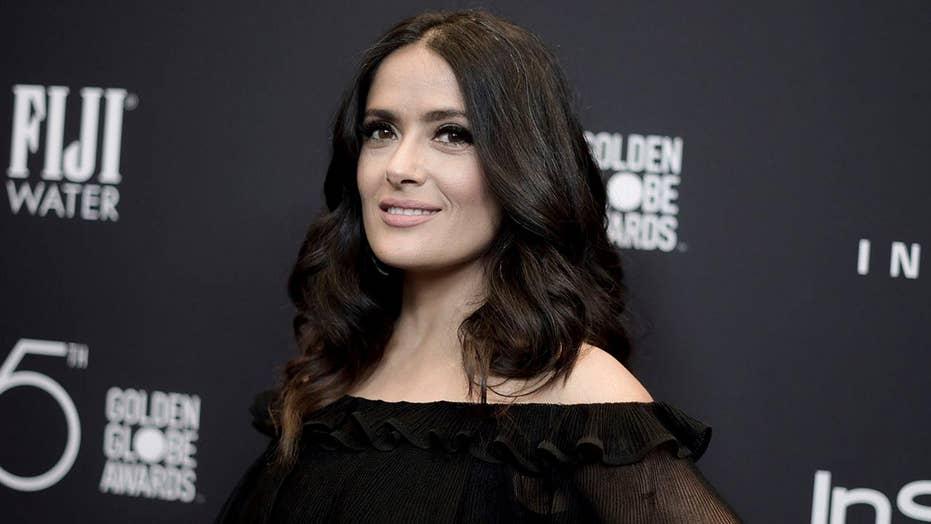 Salma Hayek says Weinstein threatened to kill her