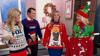'Fox & Friends' hosts get into the holiday spirit.