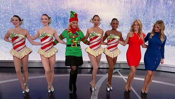 Dancers show off moves from this year's Christmas Spectacular.