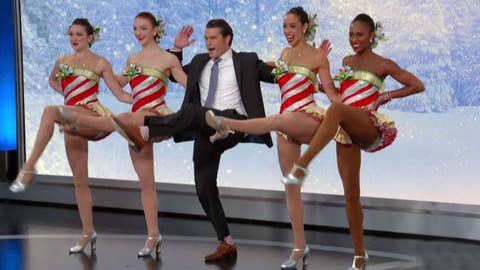 Pete Hegseth makes dancing debut!