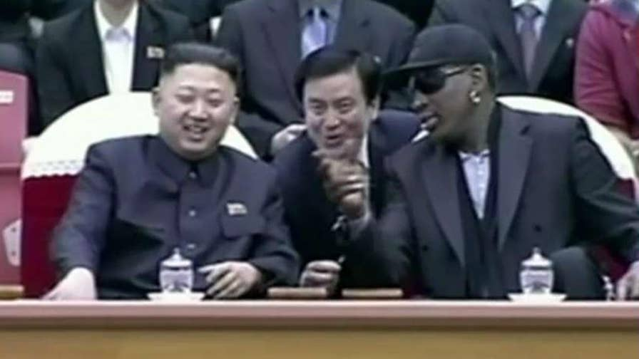 Former NBA star opens up on relationship with North Korea leader.