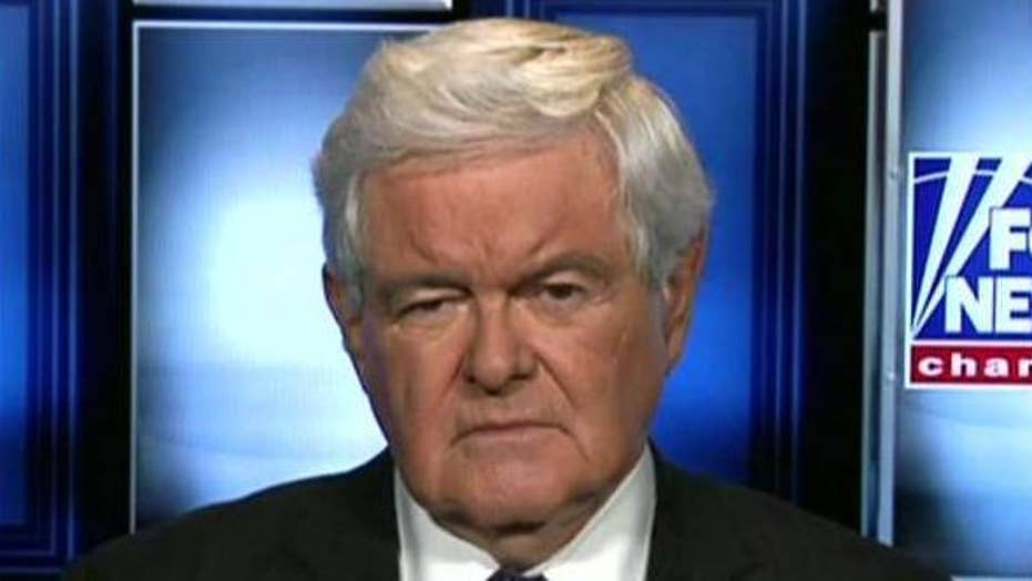 Gingrich on cesspool of corruption covering up for Clintons