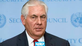 Secretary of State says North Korea must stop nuclear tests before talks can take place.