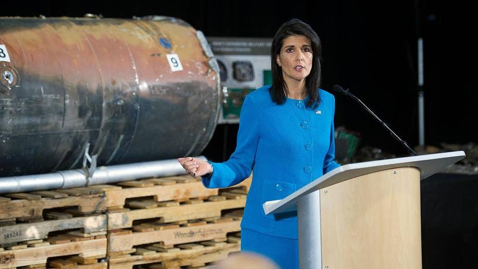 Amb. Nikki Haley accuses Iran of violating nuclear agreement