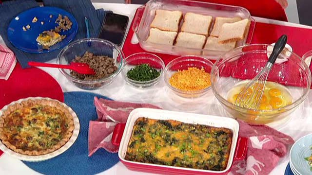 Cooking with 'Friends': Campos-Duffy's Christmas breakfast