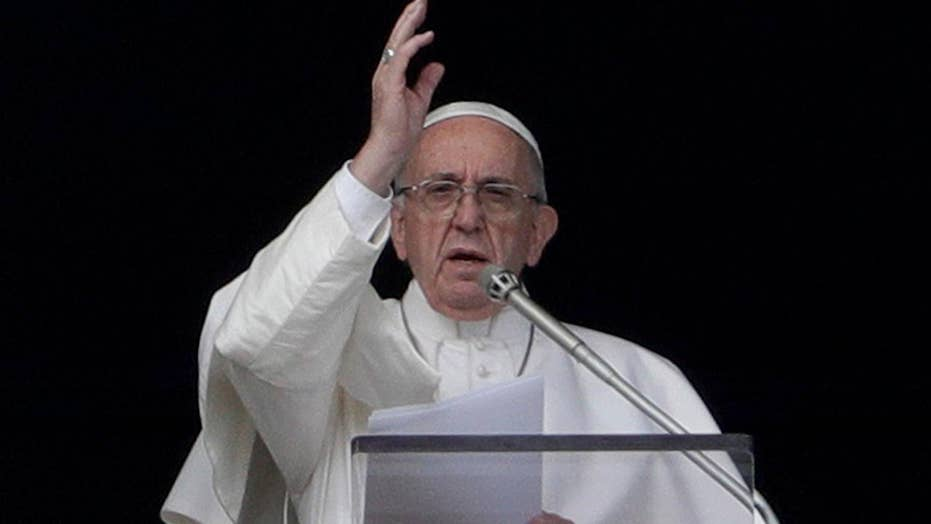 Pope says media sin by dredging up old scandals