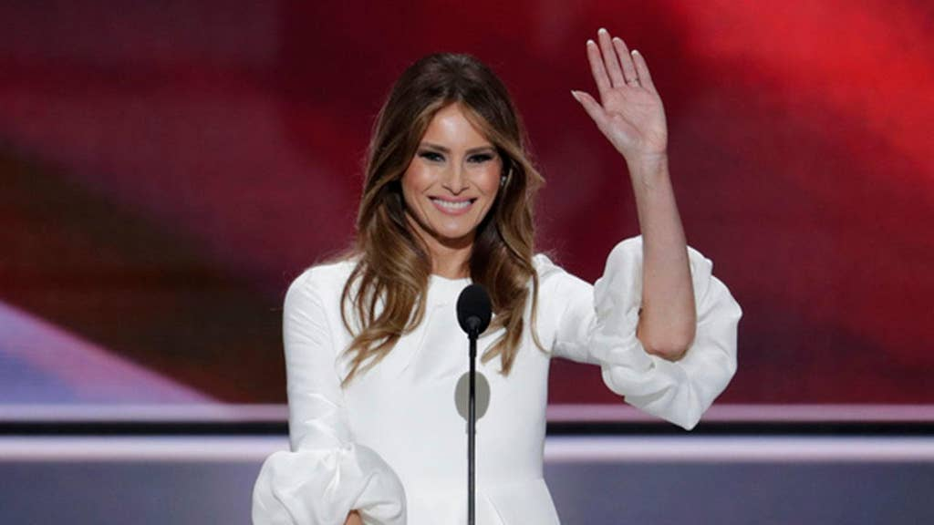 First lady Melania Trump marks first year with grace and dignity