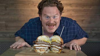 "Casey Webb says he's up to some serious ""shenanigans"" on his latest season of Travel Channel's 'Man v. Food.' Hear some of his advice for conquering an eating challenge, and stay tuned to learn more about his favorite ""food cities"" in America."