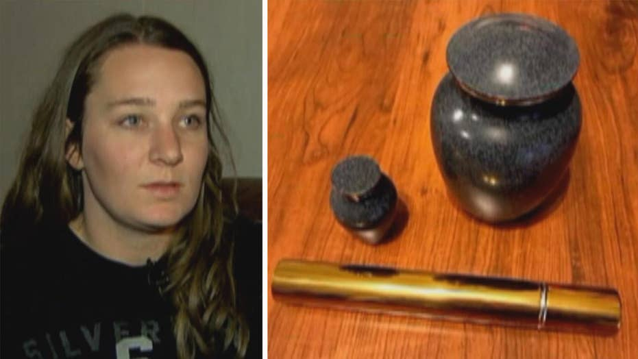 Package stolen from woman's doorstep contained dad's ashes