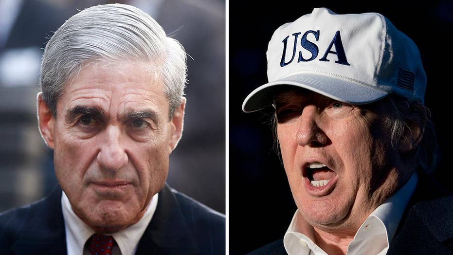 Trump says he has no plans to fire Mueller
