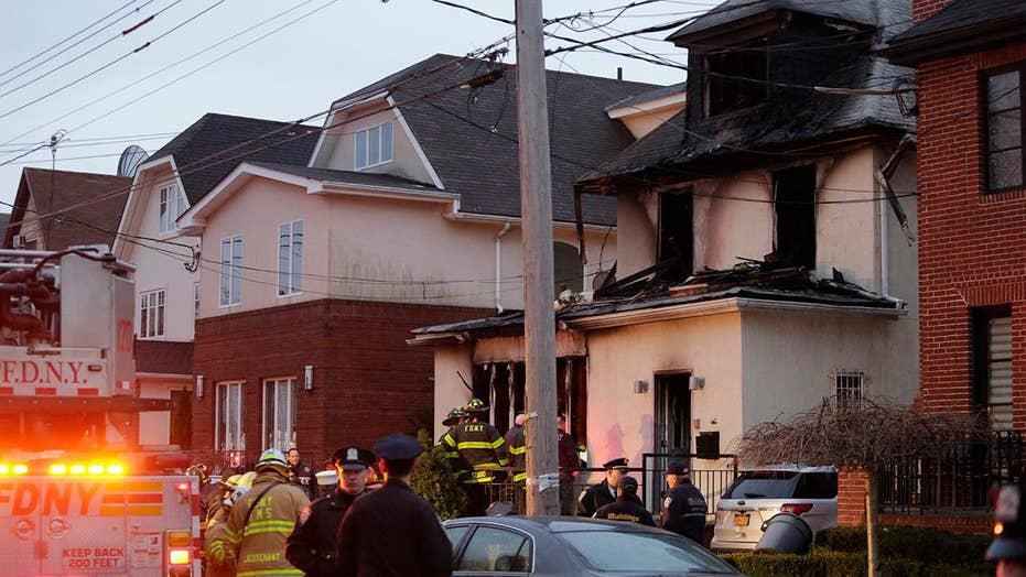 Deadly fire tears through New York City home