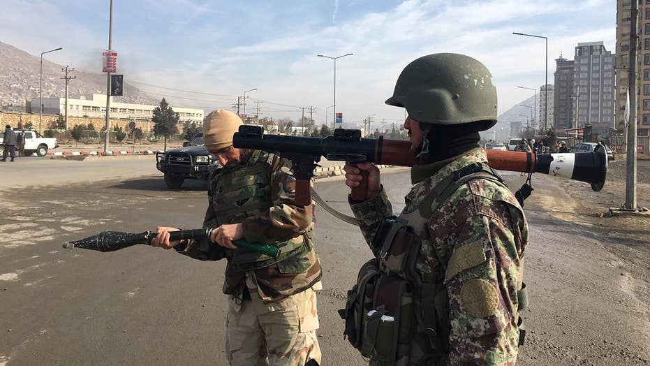 ISIS storms building near Afghan intel training center