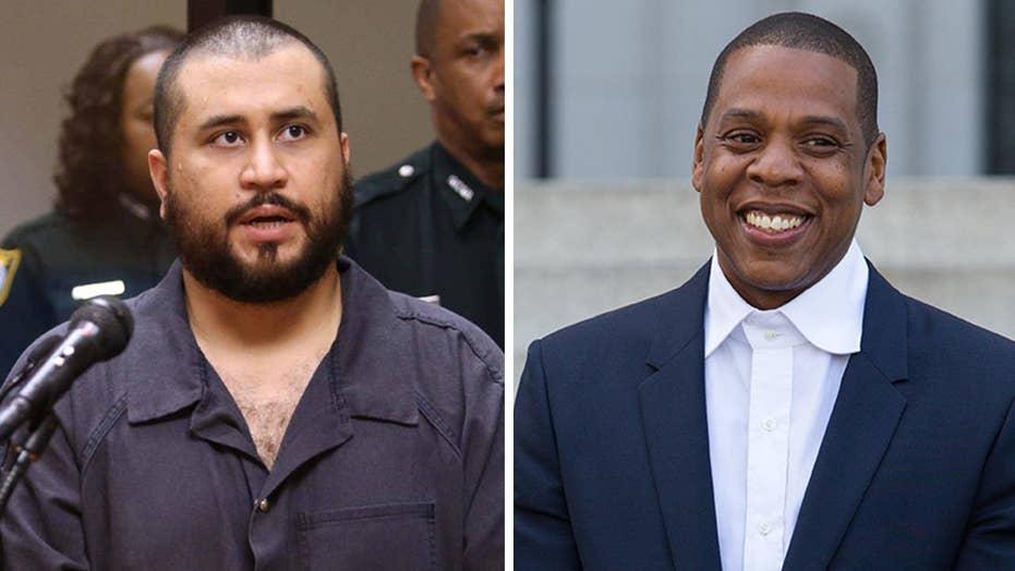 George Zimmerman threatens rap stars over Jay-Z documentary