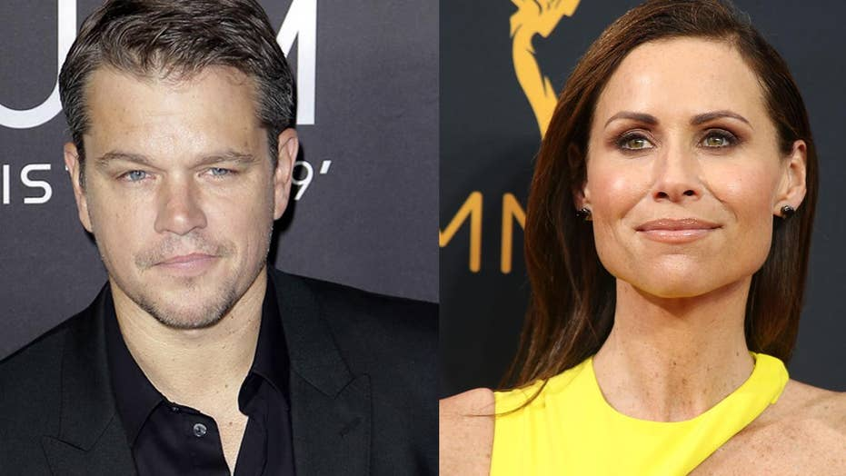 Minnie Driver calls out Matt Damon's sex harassment comments