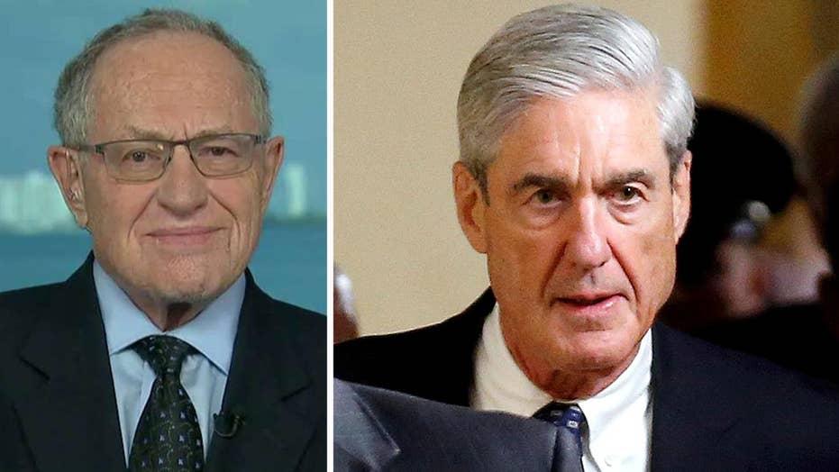 Dershowitz: Mueller foolishly handled transition team emails