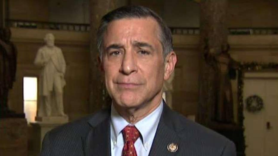 Rep. Issa on celebs reportedly donating money to unseat him