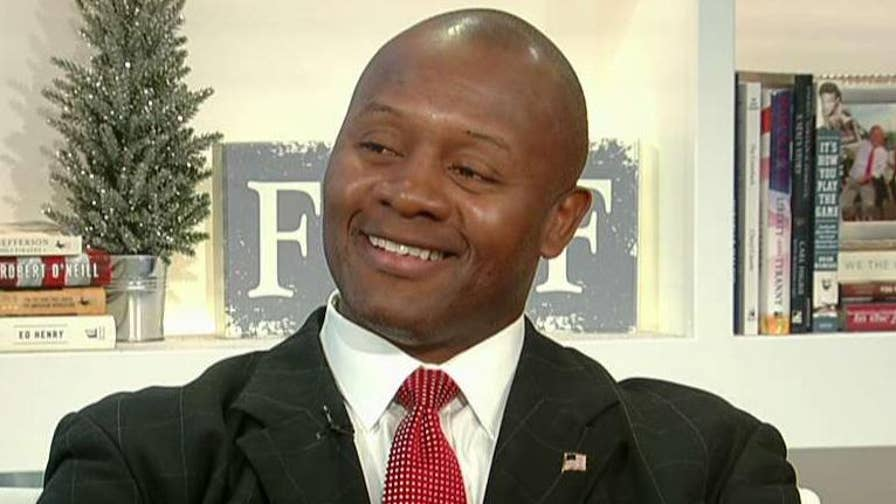 Navy vet Eddie Edwards speaks out on why he's running for Congress on the Republican ticket.