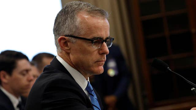 McCabe testifies on possible bias in Russia, Clinton probes