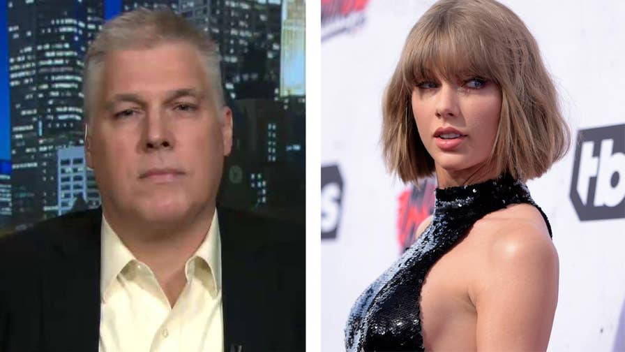 Radio DJ that Taylor Swift accused of grabbing her butt says he was falsely accused and he was fired without having a chance to give his side of the story. He also tells Tucker why he doesn't believe Swift deserved to be a Time Person of the Year. #Tucker