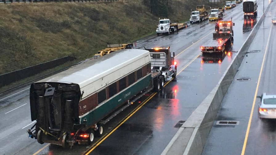 Claudia Cowan has the latest on the Washington train accident.