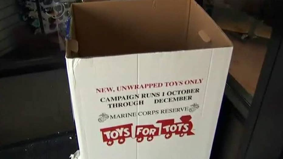 Real-life Scrooge steals donations from Toys for Tots