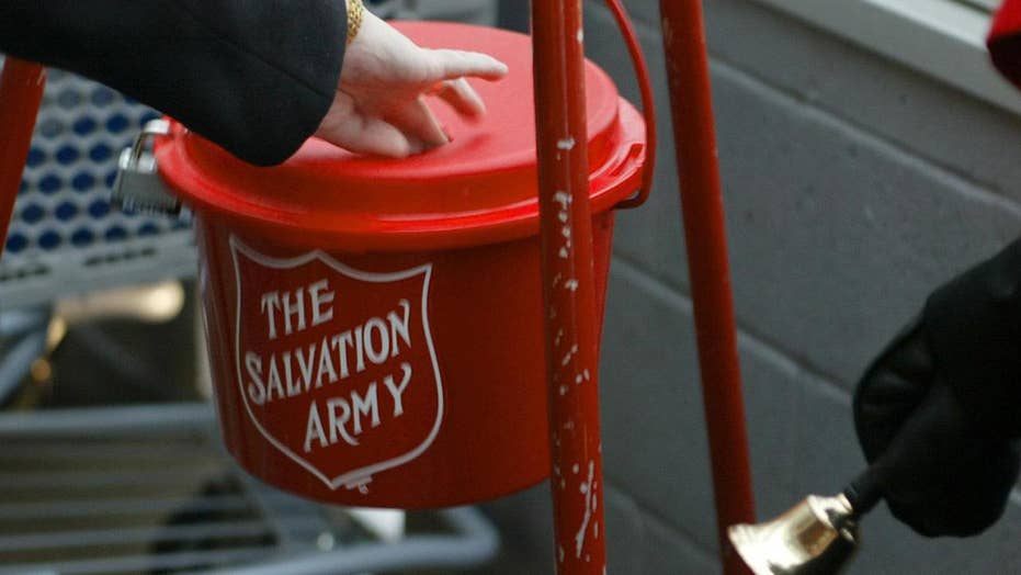 Thieves target Salvation Army kettle stealing donations