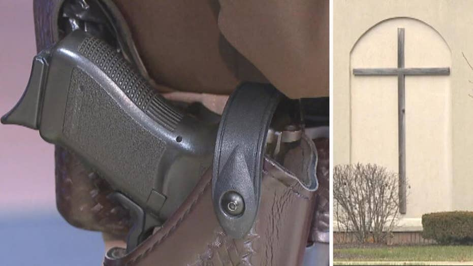 Armed parishioners set to protect Indiana church