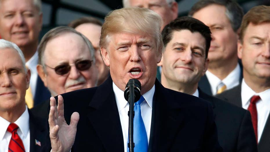 Trump: Largest tax cut in the history of our country