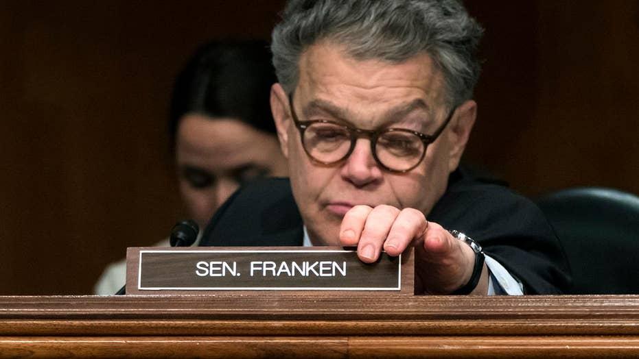 Sen. Al Franken will resign on January 2nd