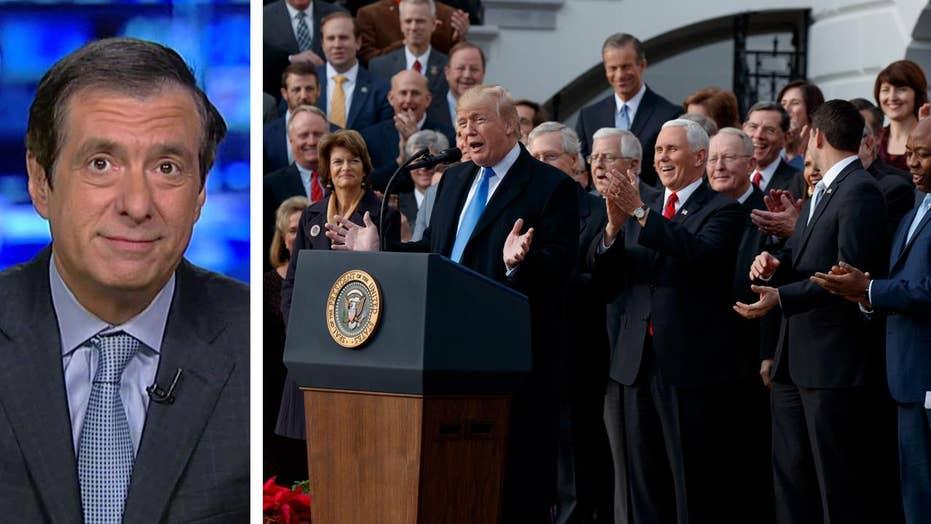 Kurtz: Trump's tax win forces a media reassessment