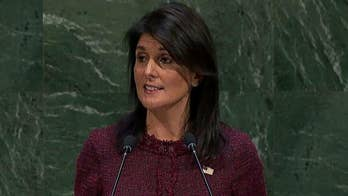 The U.S. ambassador to the U.N. says America's goodwill should not be disrespected.