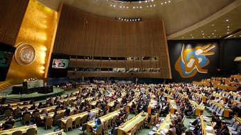 United Nations General Assembly votes 128-9 that U.S. recognition of Jerusalem as Israel's capital is 'null and void.'