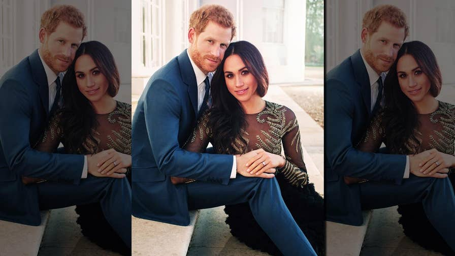 Fox411: Prince Harry and Meghan Markle celebrated their engagement with the release of their first official portrait photos. The two will marry May 19, 2018.