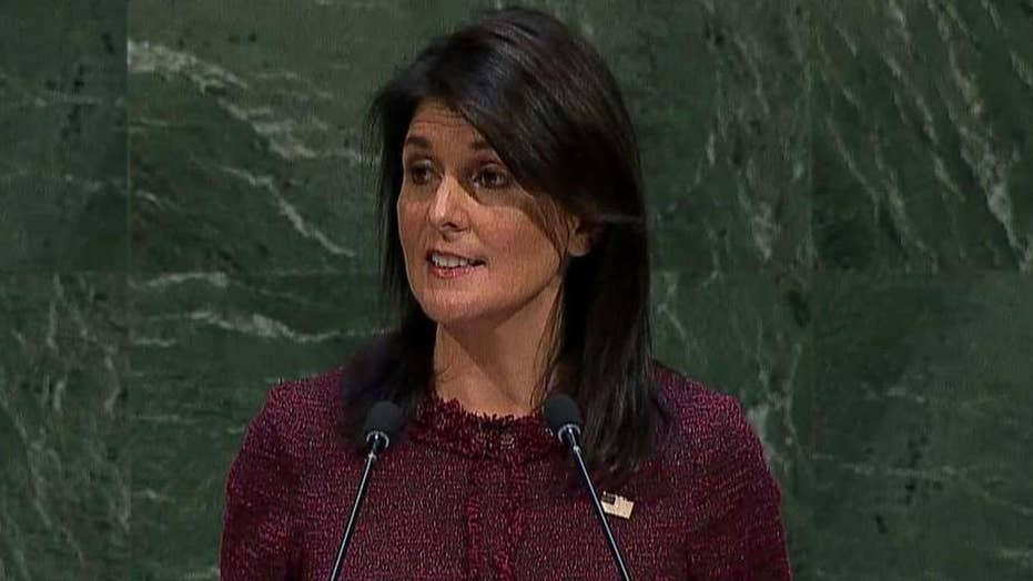 Haley to the UN: Your Jerusalem vote will be remembered