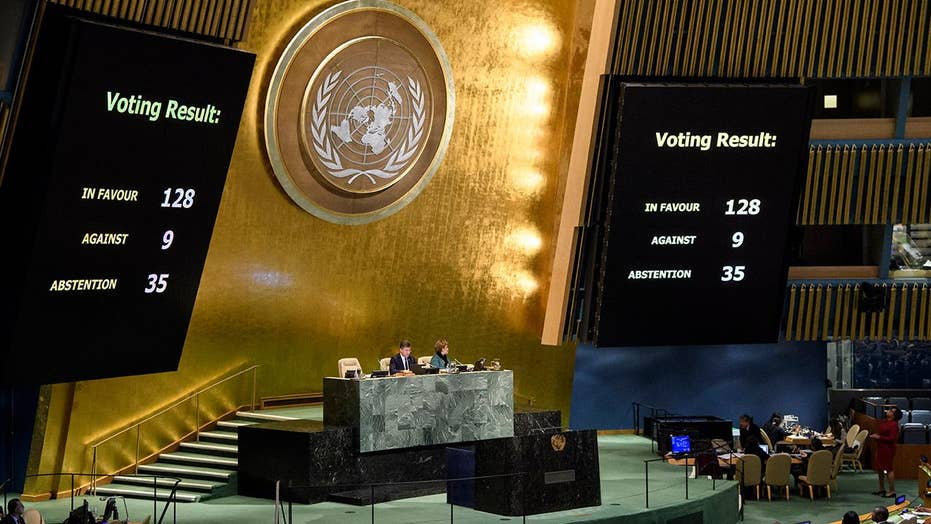 UN votes to condemn US decision on Jerusalem