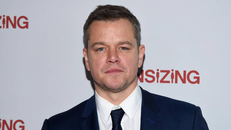 Petition calls for Matt Damon's removal from 'Ocean's 8'