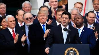 GOP tax reform already breathing life into US economy?