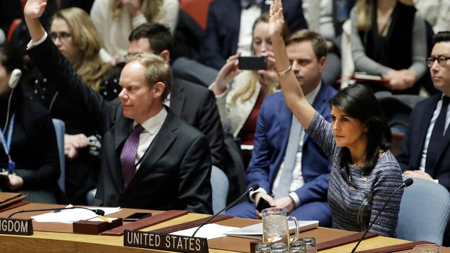 Amb. Nikki Haley says the resolution sends message to North Korea that further defiance invites further punishment.