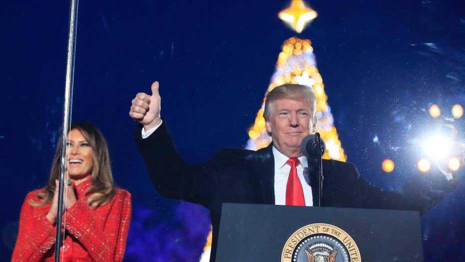 Is President Trump winning the war on Christmas?
