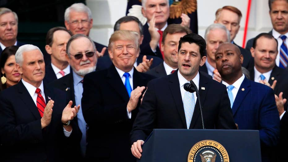GOP tax reform already breathing life into US economy?