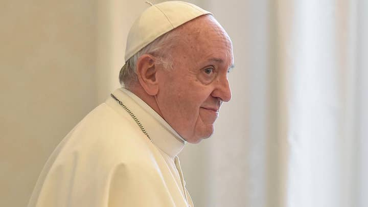 Pope Francis rips media