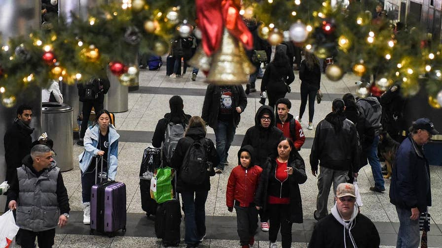 AAA: 100 million Americans expected to travel during the Christmas holiday; David Lee Miller reports from New York City.