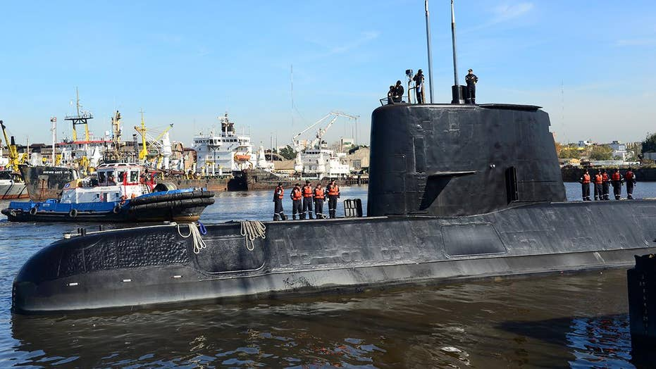 New contact detected in search for missing Argentine sub