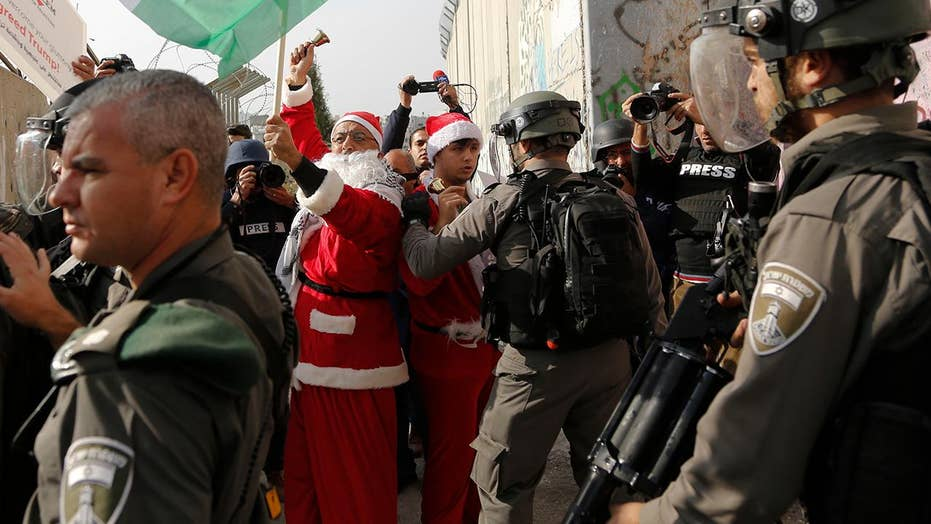 Protests put damper on Christmas in Bethlehem