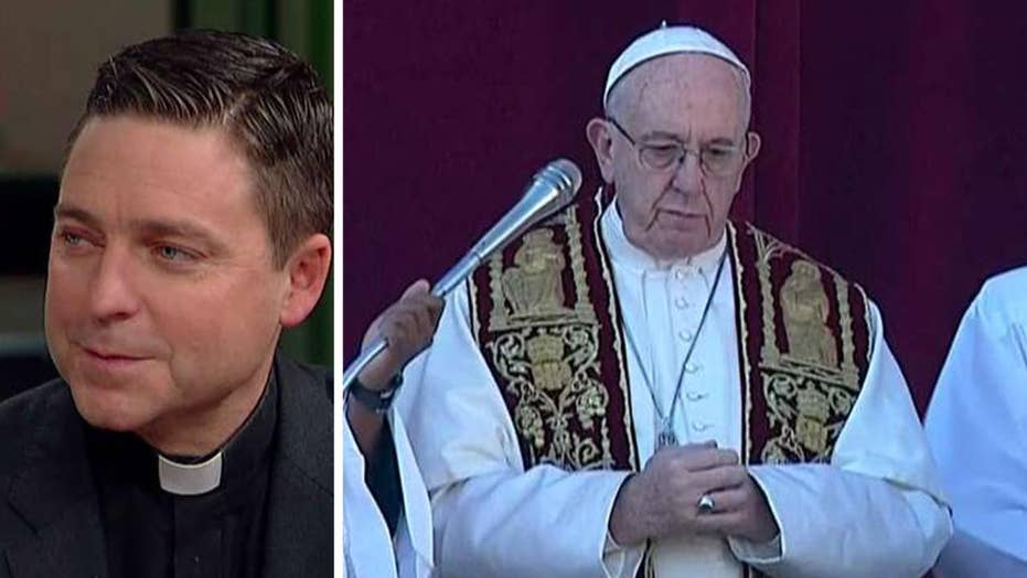 Father Morris reacts to Pope Francis' Christmas message