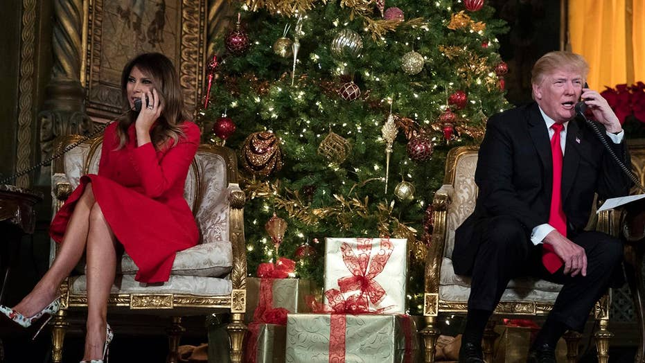 President Trump celebrates Christmas in Florida