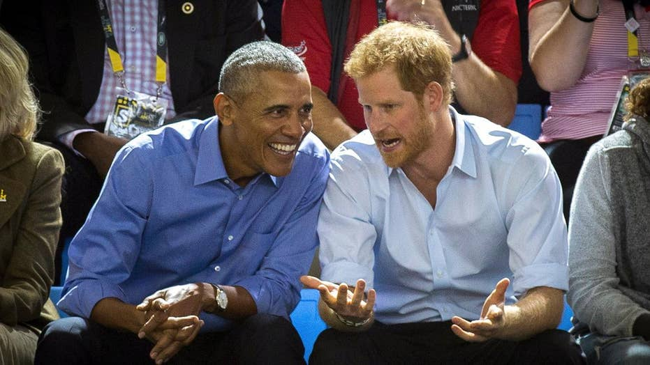 Report: Prince Harry may invite Obamas to royal wedding