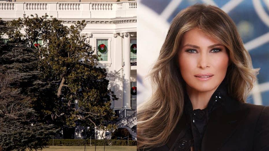 Melania Trump, Jackson Magnolia tree controversy